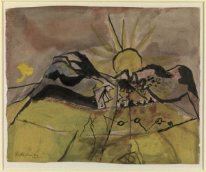 Graham Sutherland, The Setting Sun
