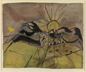 Graham Sutherland, The Setting Sun
