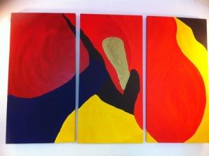 Miriam triptych