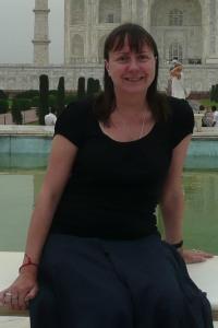 Julie at Taj