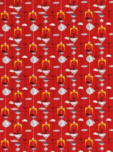 Image of Mobiles fabric ref. 220035 Image courtesy of Sanderson www.sanderson-uk.com