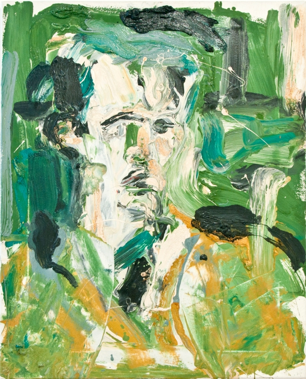Paul Richards, Portrait of Michael Burley, 1988 (copyright Paul Richards, Rugby Art Gallery and Museum, Rug