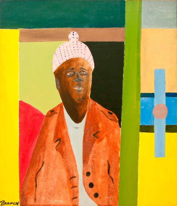 Winston Branch, West Indian (copyright Winston Branch, Rugby Art Gallery and Museum, Rugby Borough Council)